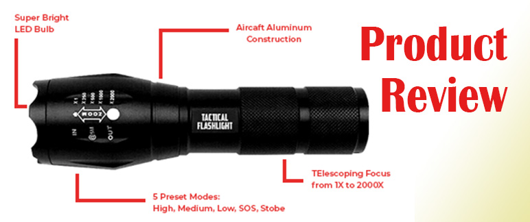 TorchBeam Tactical Flashlight